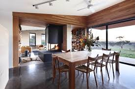 dining space from the mansfield house in ep 1 of grand designs