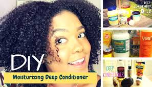 growing natural black hair with s curl moisturizer youtube the best ingredients for your diy moisturizing deep conditioner