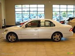 lexus sedan 2005 2005 moonlight pearl lexus ls 430 sedan 19011565 gtcarlot com