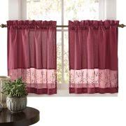 cafe curtains kitchen cafe curtains