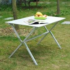 aluminium roll up table cing table in a bag aluminum best bag 2017