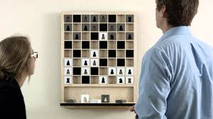 Diy Chess Set Mate The Wall Hanging Chess Board Youtube