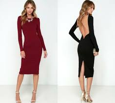 va va voom dresses va va voom black backless midi dress
