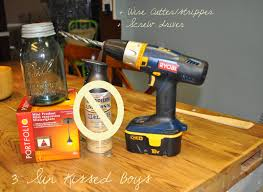 remodelaholic mason jar pendant light tutorial