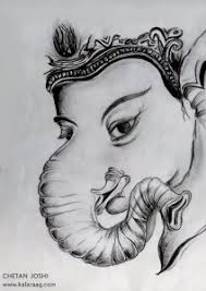 beautiful sketch of god ganesh ji information about ganesh and