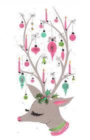Xmas Designs For Cards 361 Best Dear Christmas Deer Images On Pinterest Christmas Deer