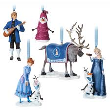 olaf u0027s frozen adventure sketchbook ornament set limited edition