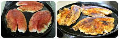 Cast Iron Cooking Cooking Tilapia Fish