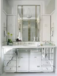 mirrored bathroom vanity cabinet captivating this or that which mirrored bath crystal pendant