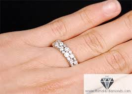 wedding band bezel set diamond motif wedding band or ring