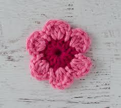 Tiny Flower Crochet Pattern - easy crochet flower pattern crochet 365 knit too