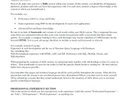 technical skills resume resume technical skills list exles endearing about listing pic