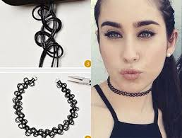choker necklace diy images Diy choker necklaces guide how to make own chokers hacks jpg