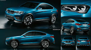 bmw x4 car bmw x4 concept 2013 pictures information specs