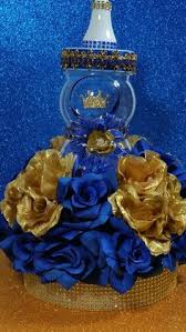 Royal Blue Baby Shower Decorations - prince baby shower centerpiece for royal by platinumdiapercakes