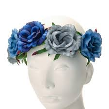 claires headbands anything blue blue floral headband anything blue