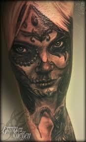 dia de los muertos chica by emmy tattoonow