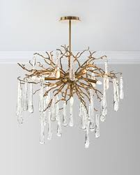 Crystal Chandelier Band Chandelier Lighting At Neiman Marcus Horchow
