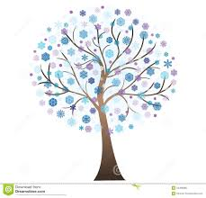 vector winter tree royalty free stock photo image 34496985