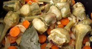 cuisiner les artichauts violets recettes de cuisine barigoule d artichauts poivrade du roussillon