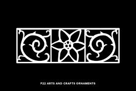 p22 arts and crafts ornaments desktop font webfont