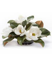 Fake Flower Centerpieces by Buy This Amazingly Realistic Magnolia Silk Flower Centerpiece At