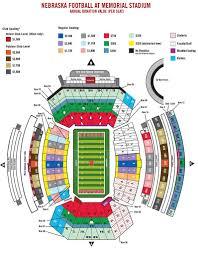 Umkc Campus Map Nebraska Football Season Ticket Map Nebraska Huskers