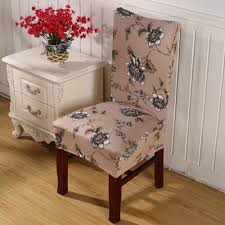Elegant Chair Covers Making Box Pleat Seat Covers For Dining Room Chair Fancy Home Design