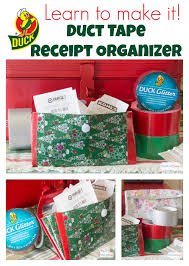 how to make a receipt how to make a duct tape wallet holiday receipt keeper atta says