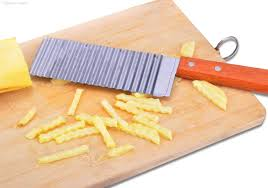 wholesale french brand potato cutter with wood handle fries