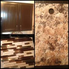 new kitchen color pallet cabinets are espresso backsplash is