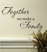 family wall quotes personalized vinyl wall decal letters phrases
