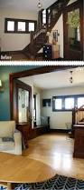 the best neutral paint colours to update dark wood trim wood