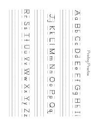 Abc Practice Worksheets For Kindergarten Free Lowercase Letter Worksheets Zb Printing Practice Sheet