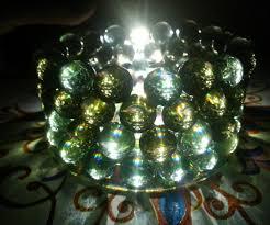 Handmade Chandeliers Lighting Handmade Marbles Cd Chandelier 4 Steps