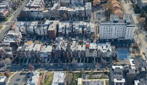 sold at auction estate sale columbia heights row house