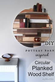 Pottery Barn Shelf Pottery Barn Inspired Planked Wood Shelf My Altered State