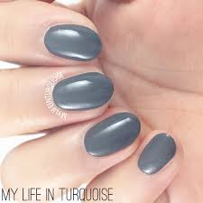 my life in turquoise nail polish review opi fifty shades of