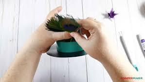 mini top hat gift box fascinator maker