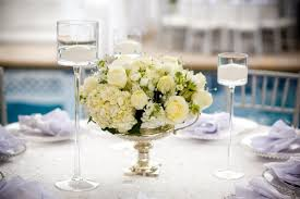 white rose and hydrangea centerpiece elizabeth anne designs the