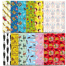 awesome wrapping paper awesome birthday wrapping paper book archie mcphee co