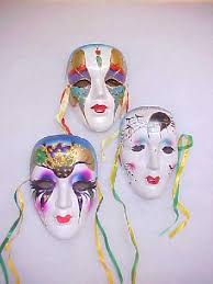 ceramic mardi gras masks cermaskgroup3 jpg