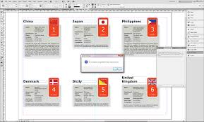 in design designing and data merging with records in indesign cs6 or cc