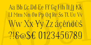 theme line yellow claw wes font 1001 fonts