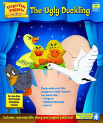 the ugly duckling finger puppets from educational insights