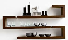 modern wall rack design structure on and wooden designs