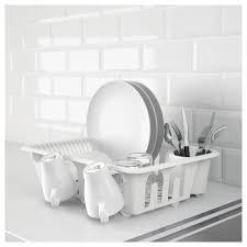 flundra dish drainer white ikea