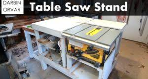 diy table saw stand with wheels table saw woodworkingfree com