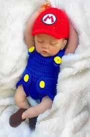 mario costume for toddlers mario baby photo prop crochet diaper cover set baby crochet