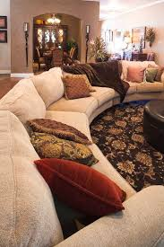 sectional sofas living spaces betenbough homes lubbock model home living room with large